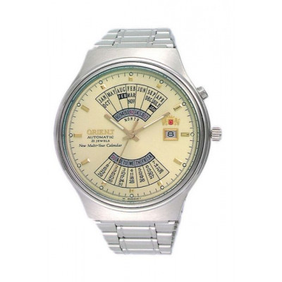 ORIENT MULTI-YEAR CALENDAR 43 MM MEN'S WATCH FEU00002C
