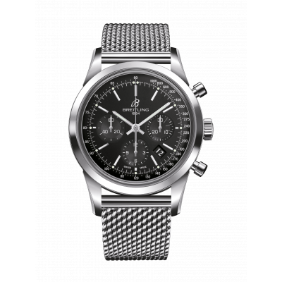 BREITLING TRANSOCEAN CHRONOGRAPH AUTOMATIC 43MM MEN'S WATCH AB011012/BA99/154A