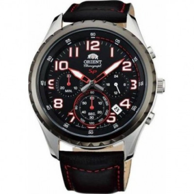 ORIENT SPORTY CHRONOGRAPH 44 MM MEN'S WATCH FKV01003B