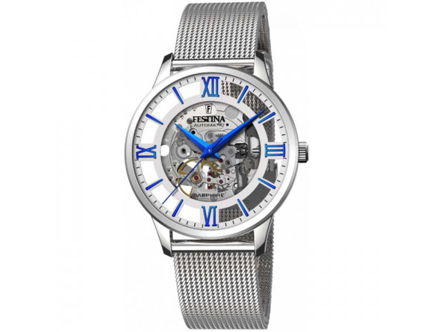FESTINA SKELETON AUTOMATIC 41.5MM MEN`S WATCH F20534/1