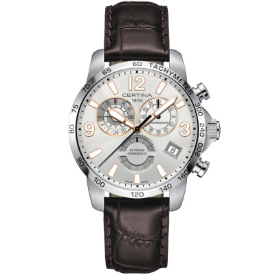 CERTINA DS PODIUM CHRONO GMT 42MM MEN'S WATCH C034.654.16.037.01