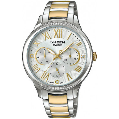 CASIO SHEEN SWAROVSKI EDITION SHE-3058SG-7AUER