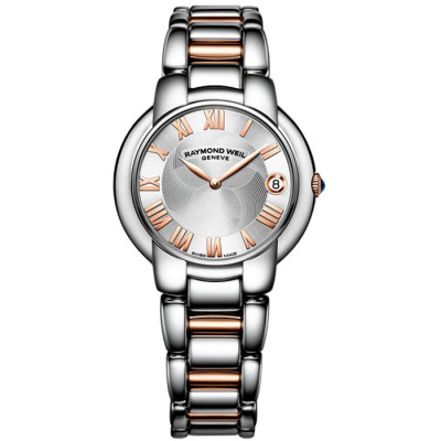 RAYMOND WEIL JASMINE QUARTZ 35MM LADIES WATCH 5235-S5-01658