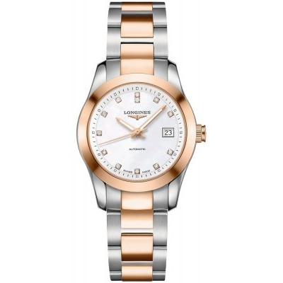 LONGINES CONQUEST CLASSIC AUTOMATIC 29.5MM LADIES WATCH  L2.285.5.87.7