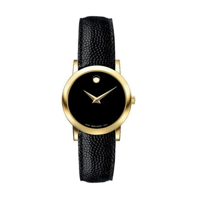 MOVADO MUSEUM QUARTZ 26MM LADIES WATCH 606088