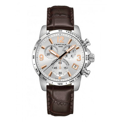 CERTINA DS PODIUM CHRONOGRAPH 1/100 SEC  PRECIDRIVE 41 MM MEN'S WATCH C034.417.16.037.01