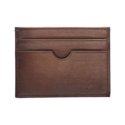 Калъф за кредитни карти DAVIDOFF Venice 4cc, кафяв 23001