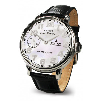 POLJOT INTERNATIONAL  NIGHTS  OF ST.PETERSBURG SPECIAL EDITION  HAND WINDING  43MM  MEN'S WATCH 9011.1940864