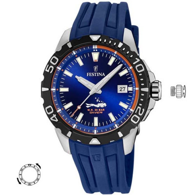 FESTINA DIVER 45MM MENS WATCH F20462/1