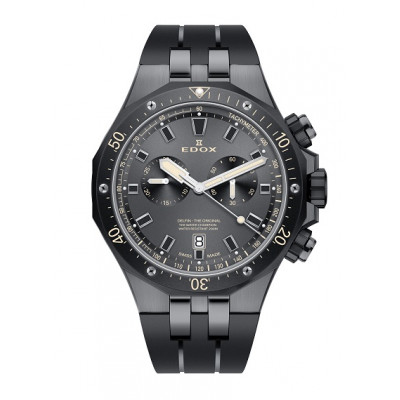 EDOX DELFIN CHRONOGRAPH QUARTZ 43MM MEN'S WATCH 10109 357GNCA NINB