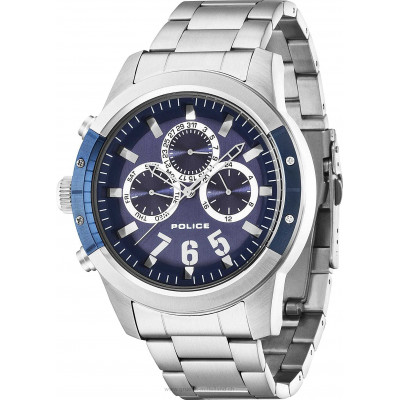 POLICE KICKER 50 MM MEN'S WATCH PL.14381JSTBL/03M
