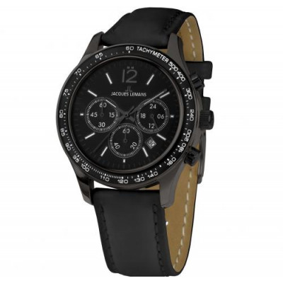 JACQUES LEMANS SPORT 44MM MEN'S 1-1586ZR