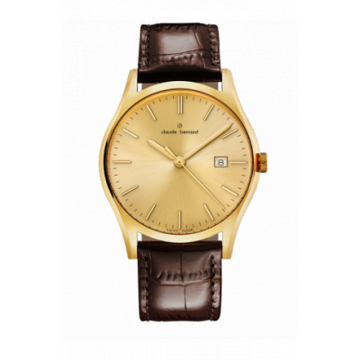 CLAUDE BERNARD CLASSIC 40 MM. MAN'S WATCH 53003 37J DI