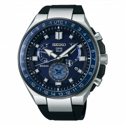 SEIKO ASTRON GPS SOLAR DUAL TIME 47MM MEN'S WATCH SSE167J1