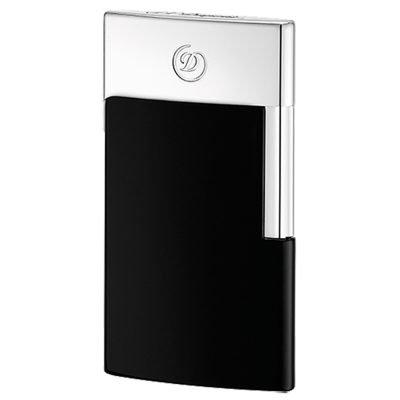 ЗАПАЛКА S.T.DUPONT E-SLIM BLACK CHROME 27004E