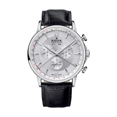 ÈDOX LES BEMONTS CHRONOGRAPH 42MM MEN'S QUARTZ  WATCH 10501 3 AIN