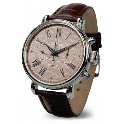 POLJOT  INTERNATIONAL BAIKAL CHRONOGRAPH HAND WINDING 43MM MEN'S WATCH  2901.1940912