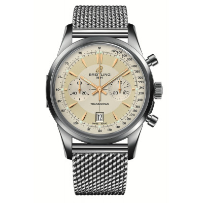 BREITLING TRANSOCEAN CHRONORGAPH 43 MM MEN'S WATCH 2000 PIECE LIMITED EDITION AB015412/154A