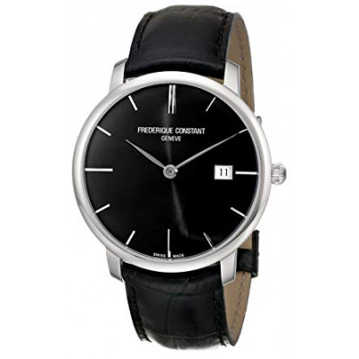 FREDERIQUE CONSTANT SLIMLINE 40 MM MEN'S BLACK DIAL AUTOMATIC WATCH FC306G4S6