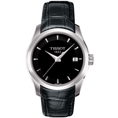 TISSOT COUTURIER QUARTZ 32MM LADIES  WATCH  T035.210.16.051.00