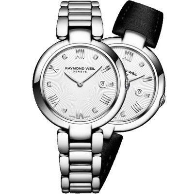 RAYMOND WEIL SHINE QUARTZ 32MM LADIES WATCH 1600-ST-00618