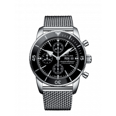 BREITLING SUPEROCEAN HERITAGE II CHRONOGRAPH  44MM MEN'S WATCH A13313121B1A1