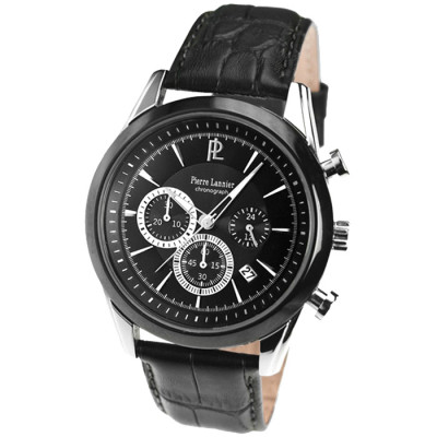 PIERRE LANNIER ELEGANCE CHRONO 43MM MEN'S WATCH 251B133
