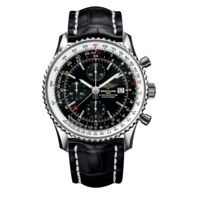 BREITLING NAVITIMER CHRONOGRAPH GMT 46MM MEN'S WATCH A24322121B2P1
