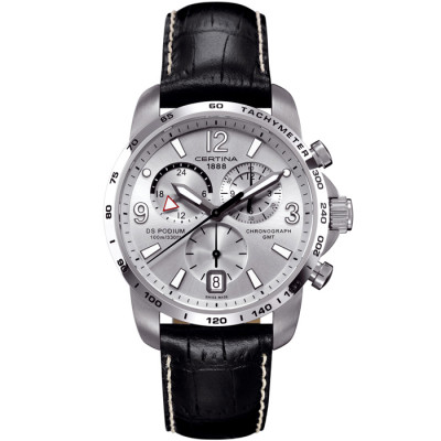 CERTINA DS PODIUM CHRONO GMT 42MM MEN'S WATCH C001.639.16.037.00