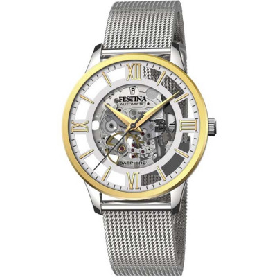 FESTINA SKELETON AUTOMATIC 41.5MM MEN`S WATCH F20537/1