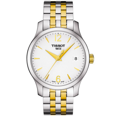 TISSOT TRADITION QUARTZ 33MM LADIES WATCH  T063.210.22.037.00