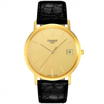 TISSOT T-GOLD GOLDRUN QUARTZ 33.5ММ MEN'S WATCH  T71.3.411.21