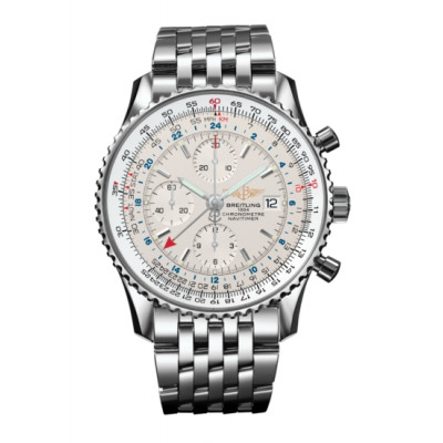BREITLING NAVITIMER WORLD AUOMATIC 46MM MEN'S WATCH A2432212/G571/443A