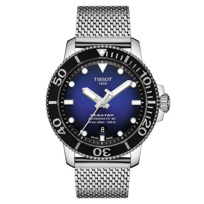 TISSOT SEASTAR POWERMATIC80 43MM MEN'S WATCH T120.407.11.041.02