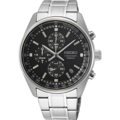 SEIKO SPORT CHRONOGRAPH QUARTZ 42MM MEN'S WATCH  SSB379P1