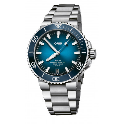 ORIS AQUIS DIVING DATE AUTOMATIC 43.5MM MEN'S WATCH 400 7763 4135-07 8 24 09PEB