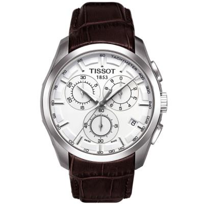 TISSOT COUTURIER QUARTZ CHRONOGRAPH 41MM MEN'S WATCH T035.617.16.031.00