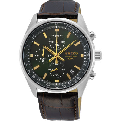 SEIKO SPORT CHRONOGRAPH QUARTZ 42MM MEN'S WATCH SSB385P1