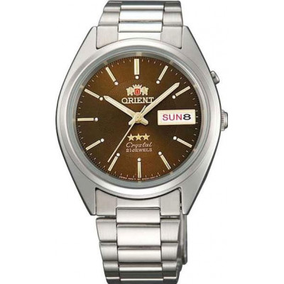 ORIENT 3 STARS 37 MM MEN'S WATCH  FAB00006T - FEM0401RT