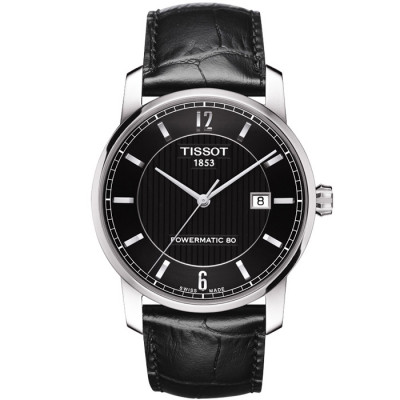 TISSOT TITANIUM AUTOMATIC POWERMATIC80 40MM MEN'S WATCH T087.407.46.057.00