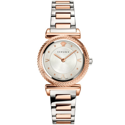 VERSACE V-MOTIF VINTAGE LOGO 35MM LADIES WATCH VERE007 18