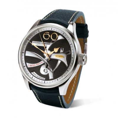 ALEXANDER SHOROKHOFF DANDY  AUTOMATIC 43.5MM  MEN'S WATCH  LIMITED EDITION 168 PIECES  AS.AVG01
