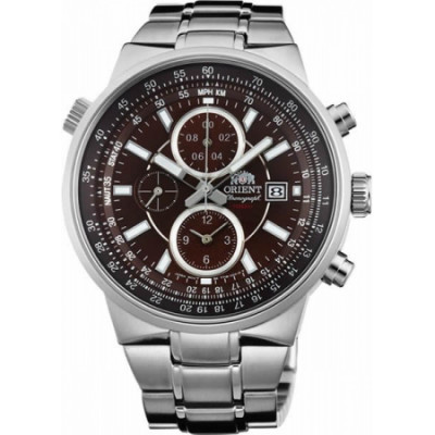 ORIENT SPORTY CHRONOGRAPH 44 MM MEN'S WATC FTT15003T