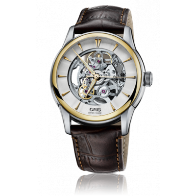 ORIS CULTURE ARTELIER SKELETON AUTOMATIC 40.5MM 734 7670 4351