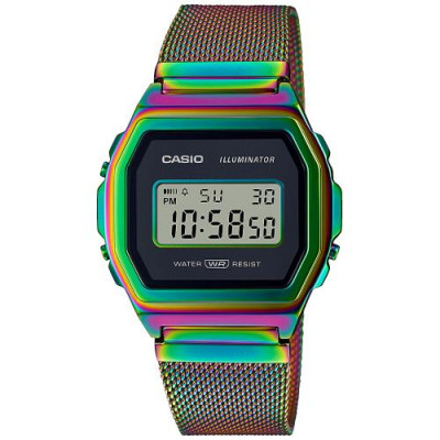 CASIO COLLECTION RAINBOW LIMITED EDITION A1000RBW-1ER
