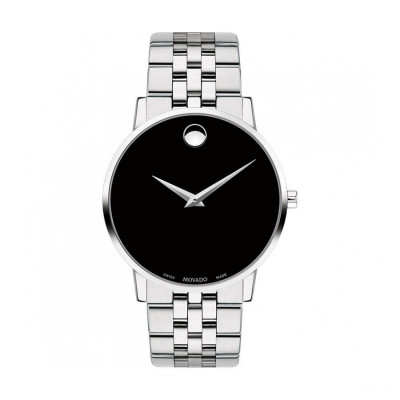 MOVADO MUSEUM QUARTZ 40MM MEN'S WATCH 607199