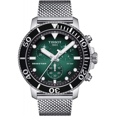 TISSOT SEASTAR 45.5MM MEN'S WATCH T120.417.11.091.00
