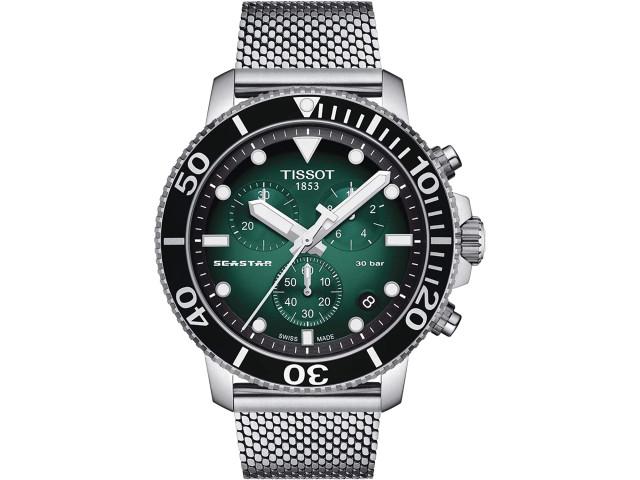 TISSOT SEASTAR 45.5MM MEN'S WATCH T120.417.11.091.00