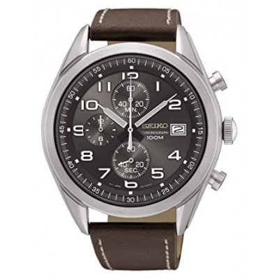 SEIKO SPORT CHRONOGRAPH QUARTZ 45MM MEN'S WATCH SSB275P1