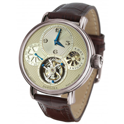 POLJOT INTERNATIONAL TOURBILLON POWER RESERVE HAND WINDING 43MM MEN'S WATCH LIMITED EDITION 100PIECES   3340.T10